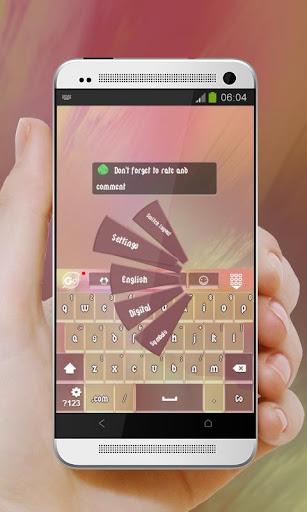 玩個人化App|甜美的粉色 GO Keyboard免費|APP試玩