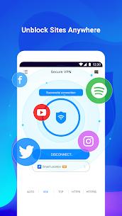 VPN Secure: Fast, Free & Unlimited Proxy (MOD, Ad-Free) v1.2.5 2
