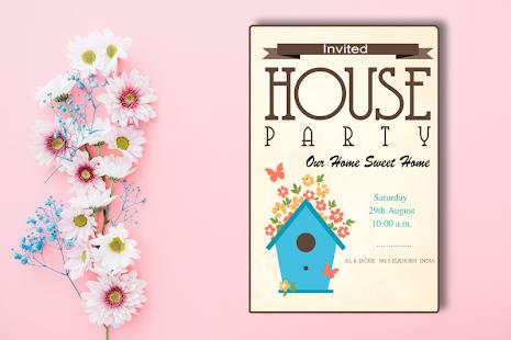 Housewarming invitation maker apps on google play screenshot image stopboris Image collections