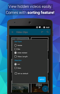 Video Locker - Hide Videos- screenshot thumbnail