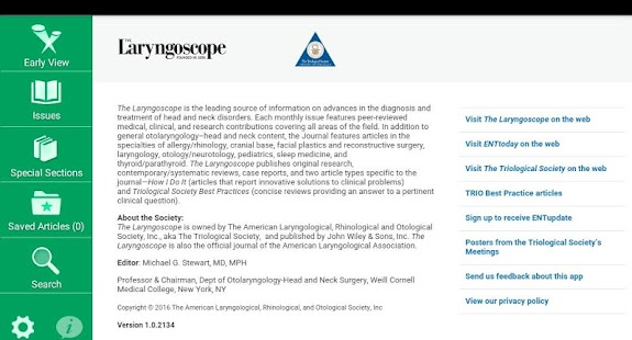 The Laryngoscope- screenshot thumbnail