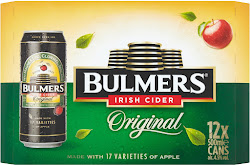 Bulmers Original Irish Cider - 12 x 500ml