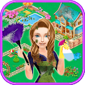 Home Cleaning and Decoration in My Town: Help Her icon