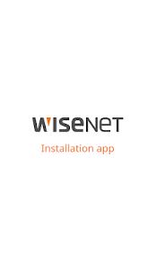 Wisenet Installation - Apps on Google Play