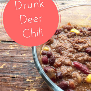 Crockpot Drunk Deer (or beef) Chili