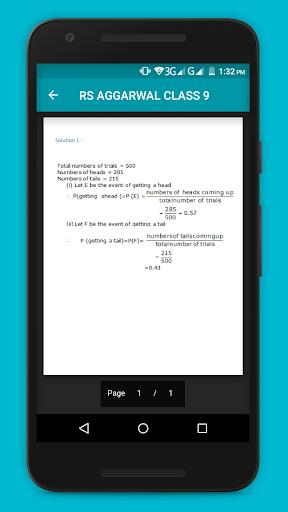 RS Aggarwal Maths Class 9 Solution  screenshots 4