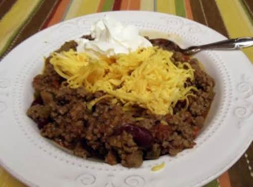 "Sweet and Spicy Chili ""I've made this several times and it is the..."