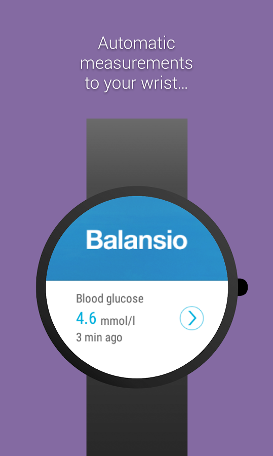 Balansio Mobile for Diabetes- screenshot
