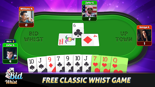 Bid Whist Free – Classic Whist 2 Player Card Game 9