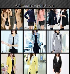 Women Design Blazer - náhled