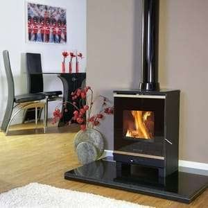 An installed portway fireplace