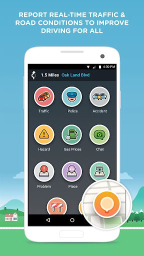 Waze - GPS, Maps & Traffic v4.4.0.102