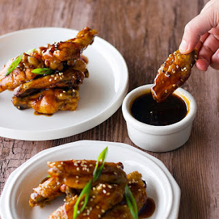 Sweet and Sour Baked Chicken Wings (with my secret sauce).