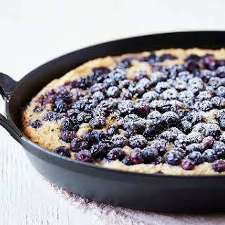 Blueberry & Ricotta Skillet Cake.