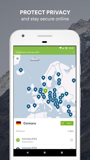 NordVPN: Private WiFi & Security - Unlimited VPN 3.4.4+playstore screenshots 1