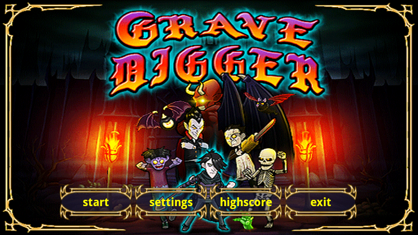 Grave Digger- screenshot