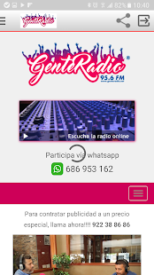 Gente Radio- screenshot thumbnail