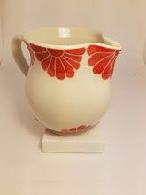 Photo: Pottery Pitcher by artist Sarah Bak