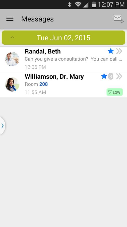 Spok Mobile - screenshot