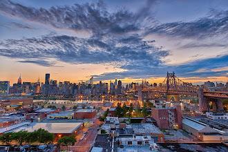 Photo: Manhattan Skyline from the Z Hotel