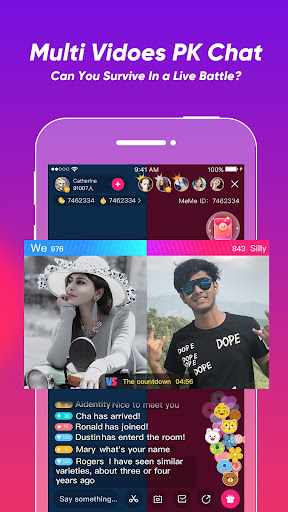 MeMe Live uff0d Live Stream Video Chat & Make Friends 2.9.3.1 screenshots 4