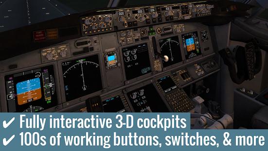 X-Plane 10 Flight Simulator - náhled