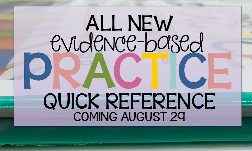 https://www.teacherspayteachers.com/Product/Evidence-Based-Practice-Quick-Reference-Speech-Language-Pathology-806606