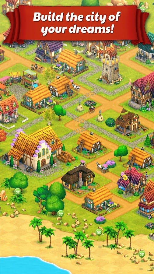 Town Village: Farm, Build, Trade, Harvest City- screenshot