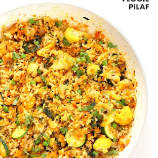 Vegetable Carrot Fried Rice - Carrot Pilaf