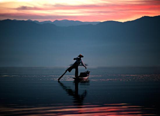 pescatore inle lake di alessandrobergamini
