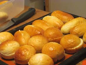 Photo: Bread for Salmon Cake Sliders