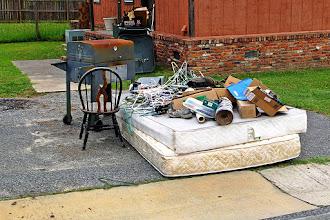 Photo: Art installation or eviction?