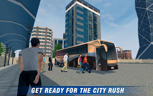 city bus coach sim 2 screenshot 1