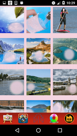android Water Photo Frames Screenshot 1