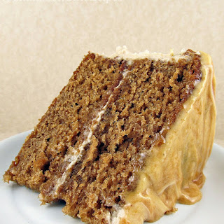 Caramel Apple Cake with Cream Cheese Frosting.