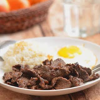 Filipino Beef Tapa.