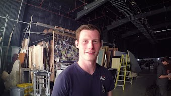 Mark Gatiss Video Diary: On Set