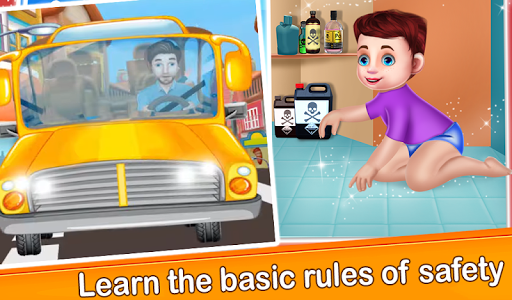 Children Basic Rules of Safety : Child Safety  screenshots 1