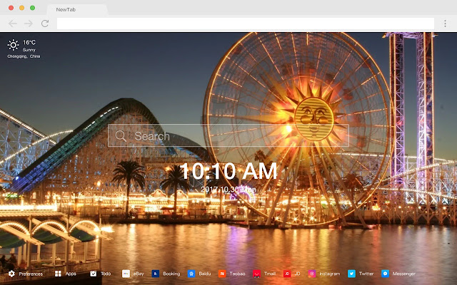 Ferris Wheel New Tab Page Top Wallpapers