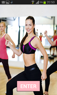 Aerobic fitness workout screenshot