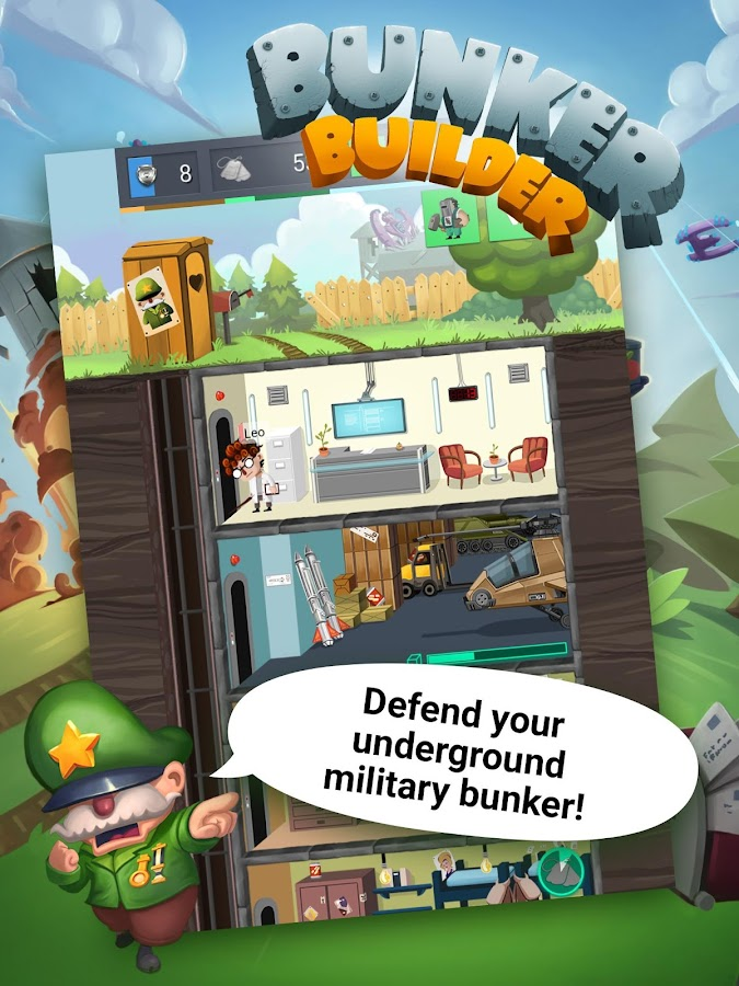 Bunker Builder- screenshot