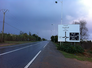 Photo: Road south, to Casablanca