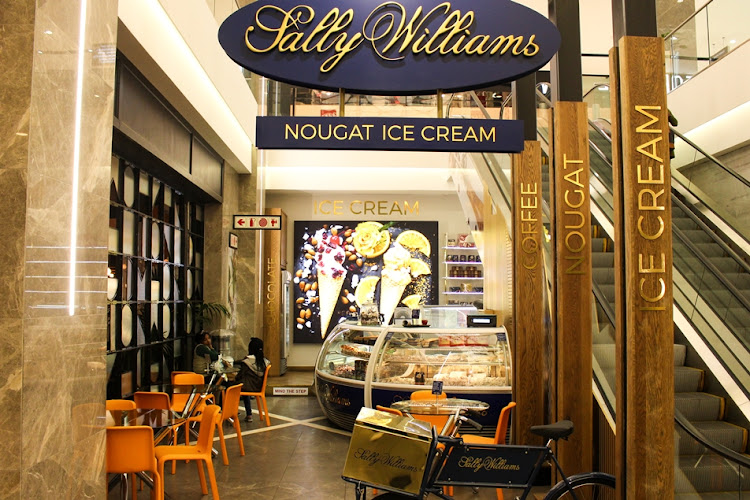 The flagship Sally Williams store is located in Sandton's Nelson Mandela Square.