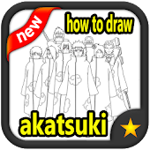 Tải Game how to draw akatsuki