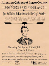 Photo: More Information About This Event Appears at http://www.geocities.com/findinglincolnillinois/abes200th-lincolnil.html.