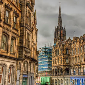 Royal Mile by Diane Ljungquist - City,  Street & Park  Historic Districts (  )