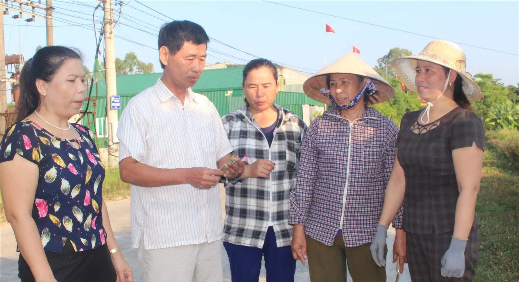 Nhờ vai trò quyết liệt của cấp ủy, người đứng đầu, xã Hưng Tân đã trở thành điểm sáng trong xây dựng nông thôn mới ở huyện Hưng Nguyên