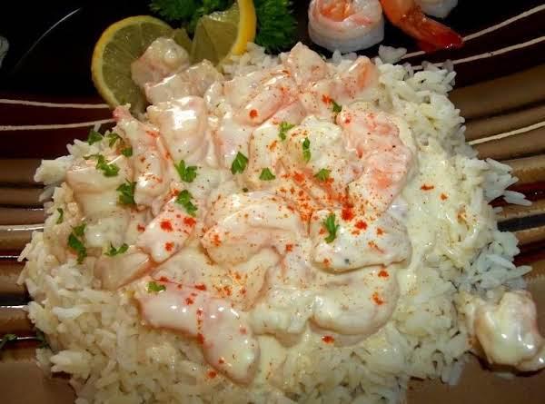 Spring Hill Ranch's Creamed Shrimp