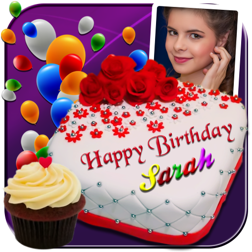 Photo On Birthday Cake - Cake with name and photo - Apps on