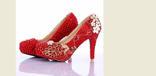 we have most beautiful wedding shoes ideas here!